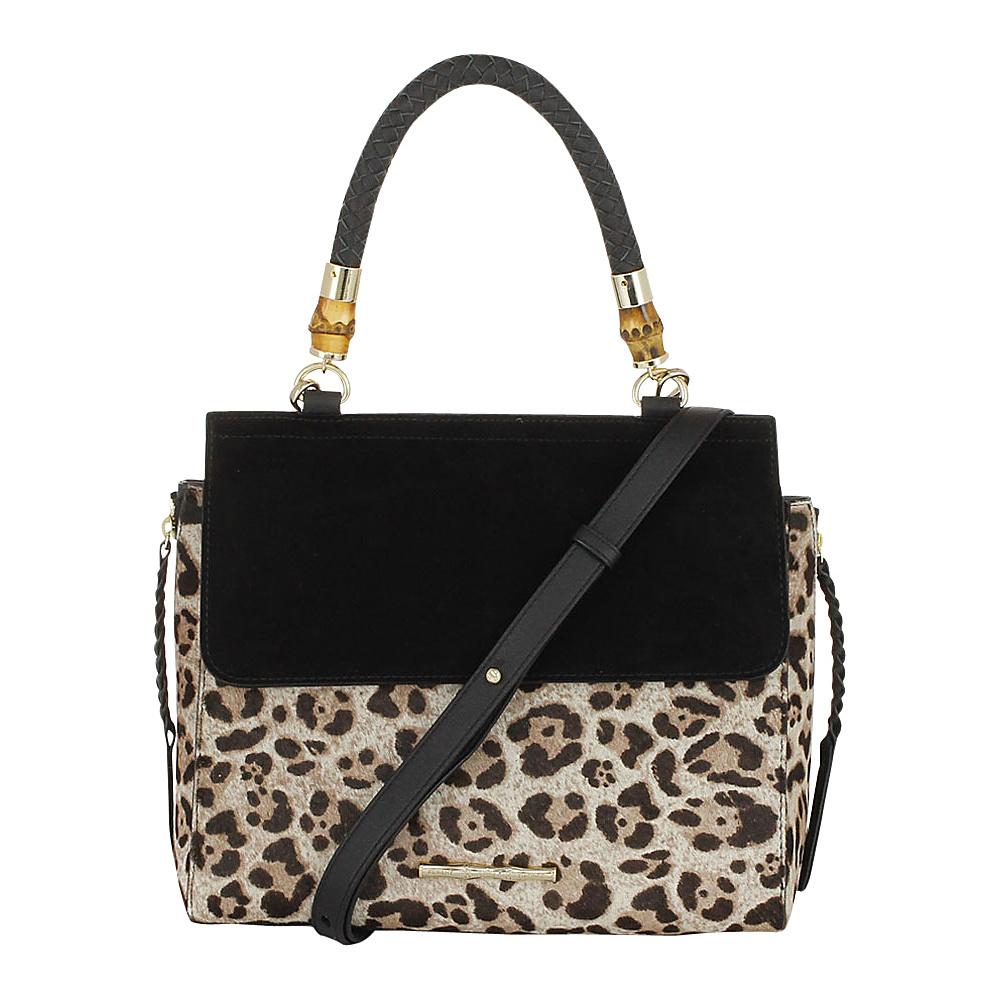 Elaine Turner Fiona Satchel Jaguar Haircalf Elaine Turner Designer Handbags