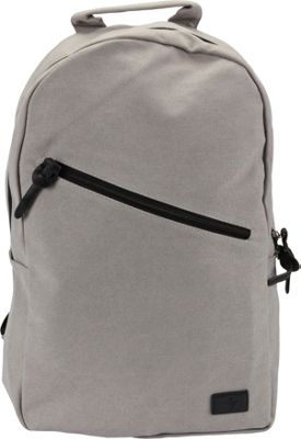 1Voice The Sidewinder Charging Backpack with 10,000mAh Battery Built-in Grey - 1Voice Business & Laptop Backpacks