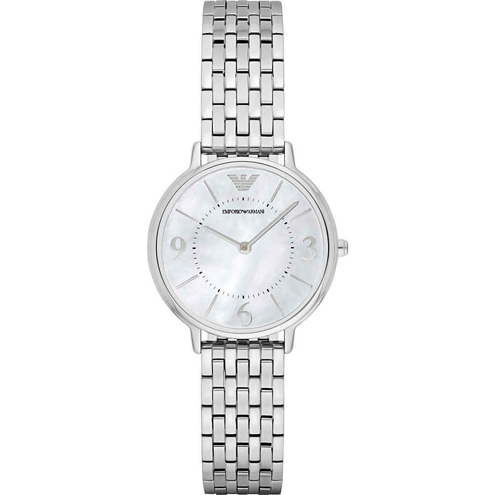 Emporio Armani Dress Watch Silver Emporio Armani Watches