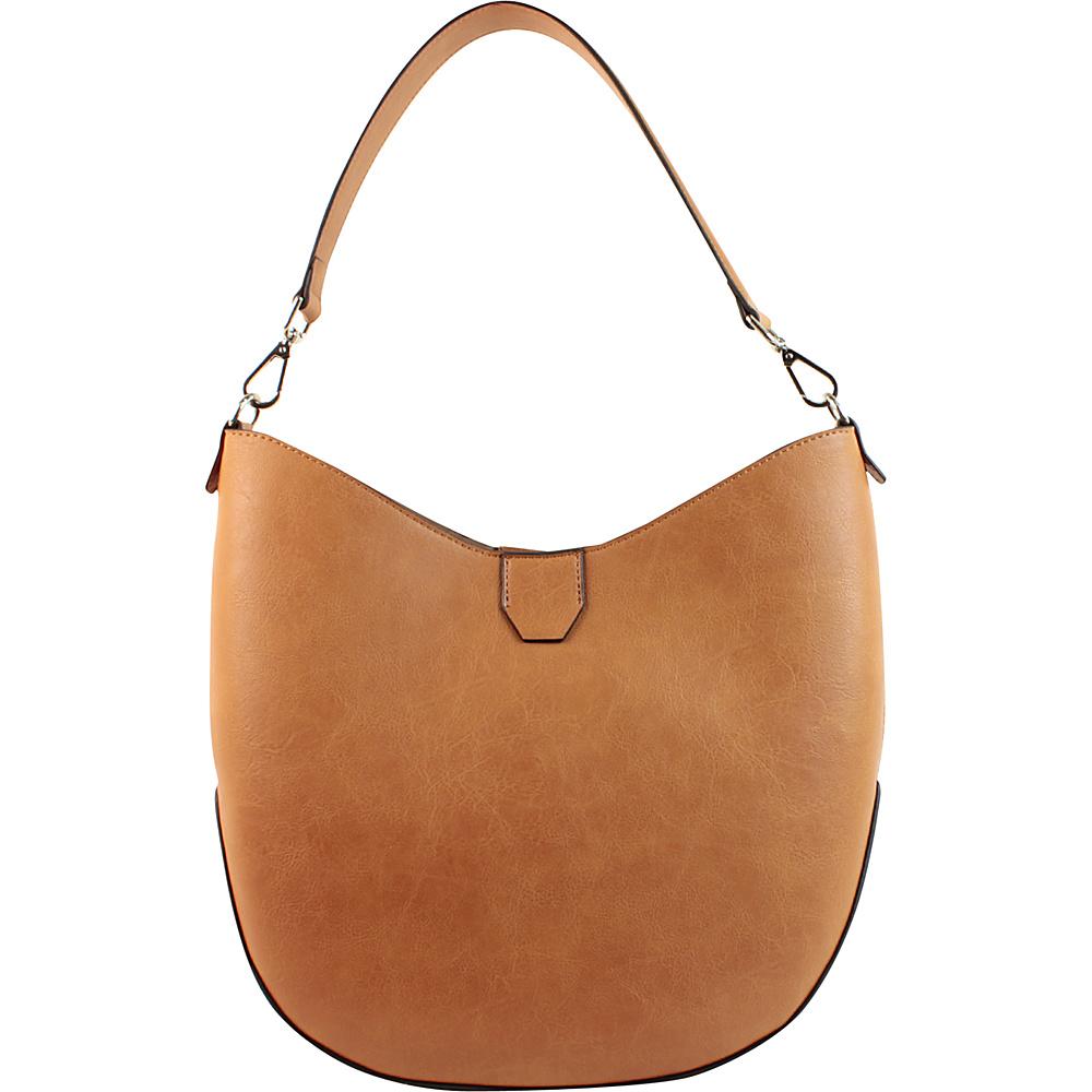 Emilie M Loren 2.0 Hobo Cognac Emilie M Manmade Handbags