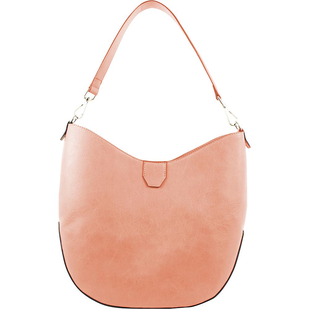 Emilie M Loren 2.0 Hobo Salmon Emilie M Manmade Handbags