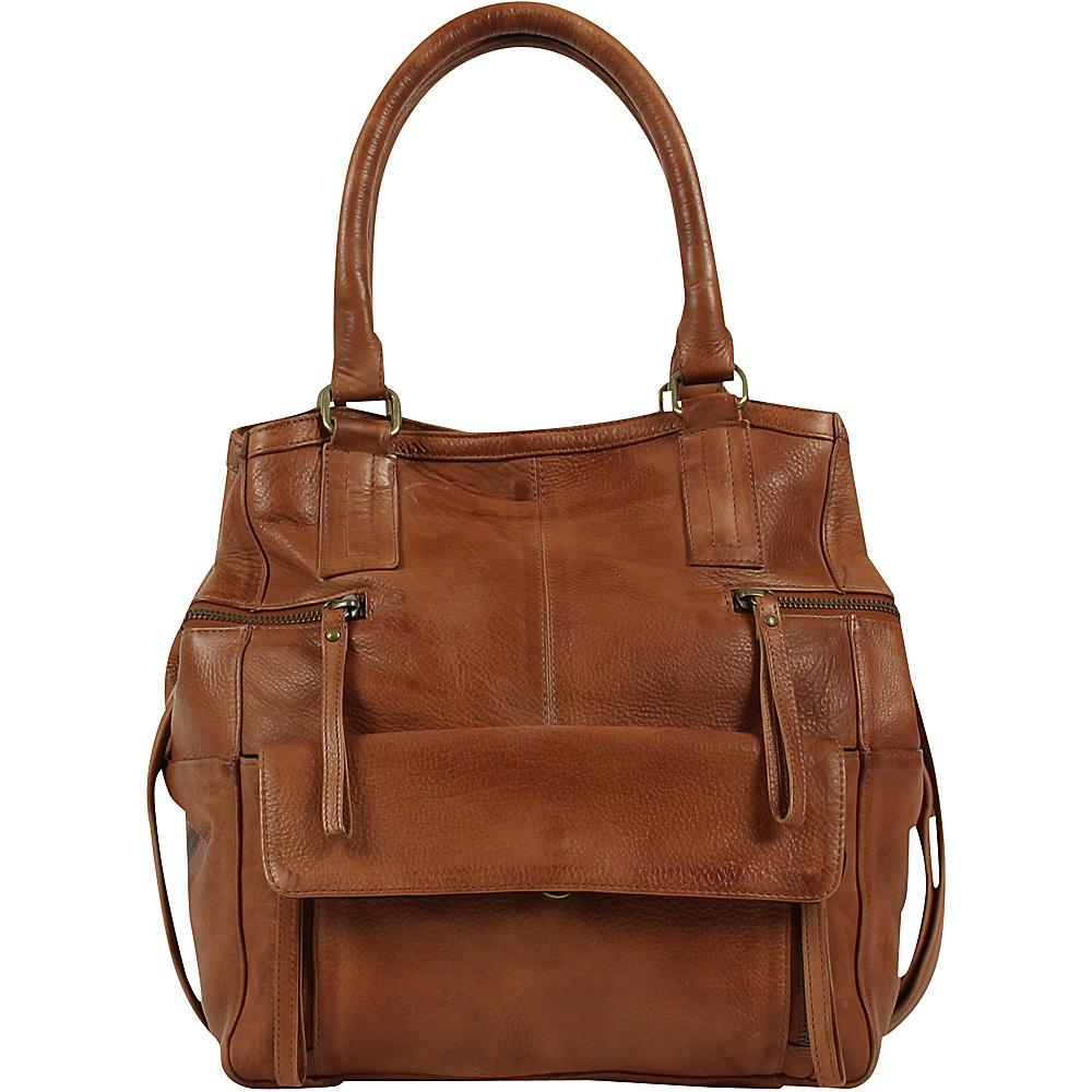 Day Mood Hannah Small Bag Cognac Day Mood Leather Handbags
