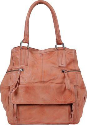 Day & Mood Hannah Small Bag Peach - Day & Mood Leather Handbags