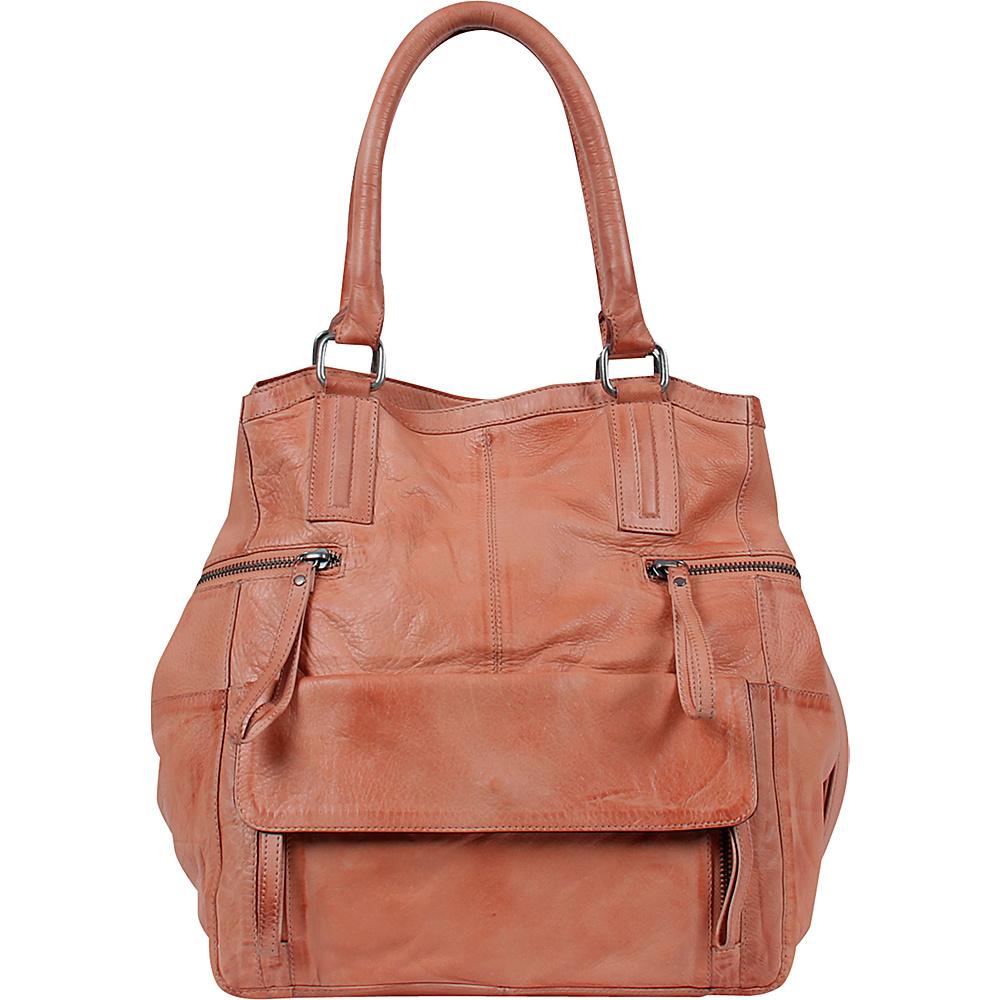 Day Mood Hannah Small Bag Peach Day Mood Leather Handbags