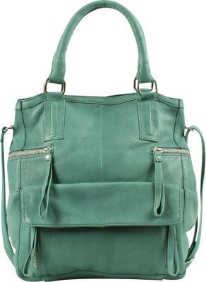 Day & Mood Hannah Small Bag Dusty Green - Day & Mood Leather Handbags