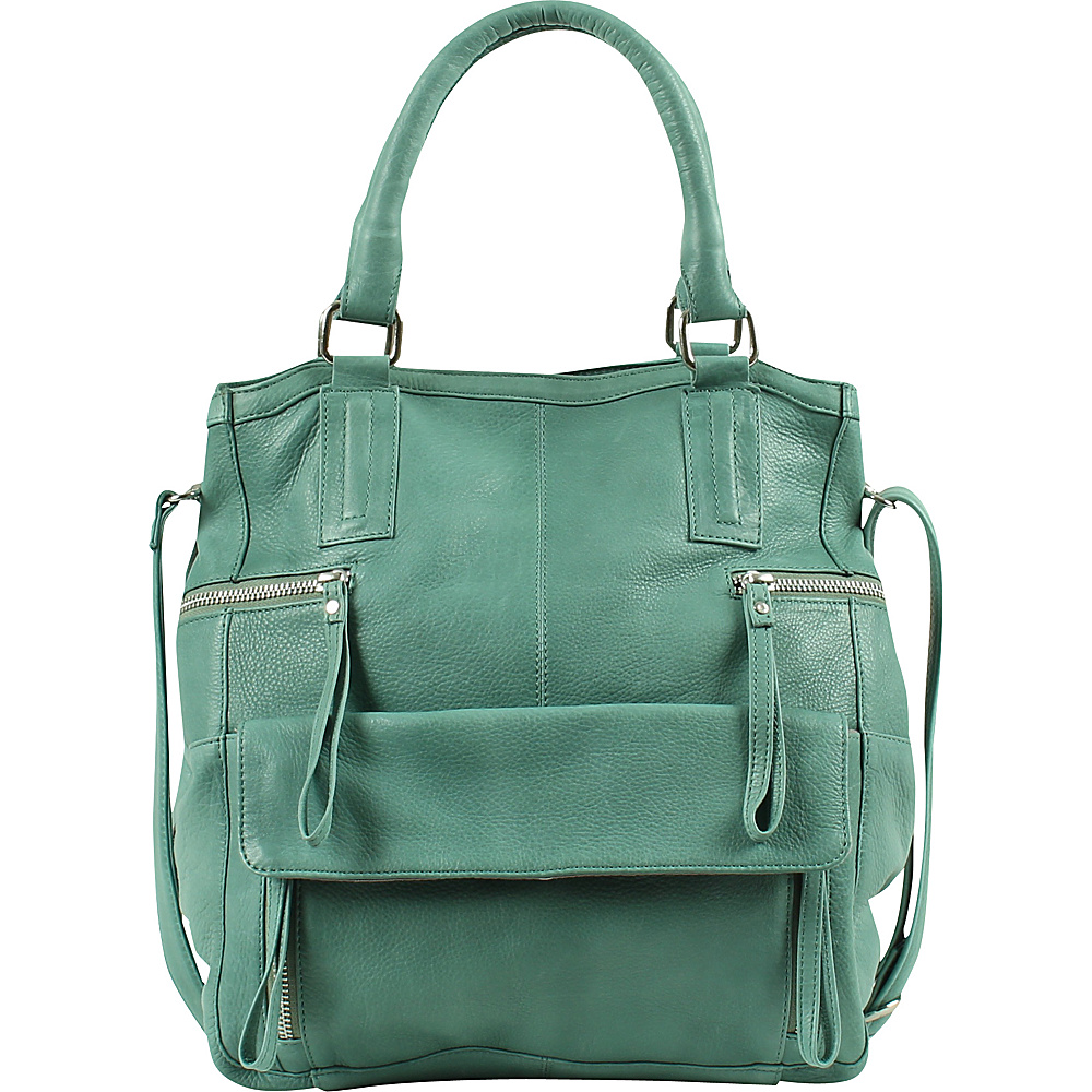 Day Mood Hannah Small Bag Dusty Green Day Mood Leather Handbags