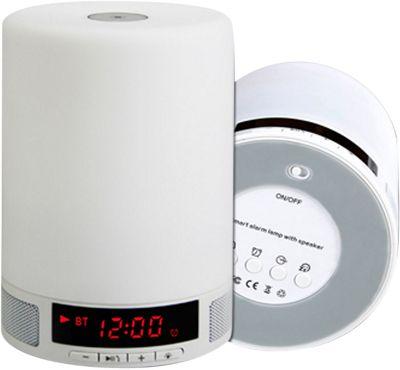 LifeCHARGE Smartlamp Bluetooth Speaker White - LifeCHARGE Headphones & Speakers