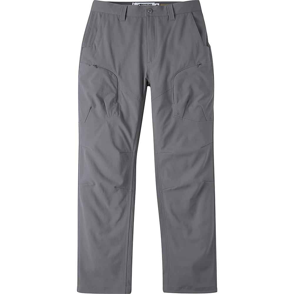 Mountain Khakis Trail Creek Pants 34 - 30in - Gunmetal - Mountain Khakis Mens Apparel - Apparel & Footwear, Men's Apparel