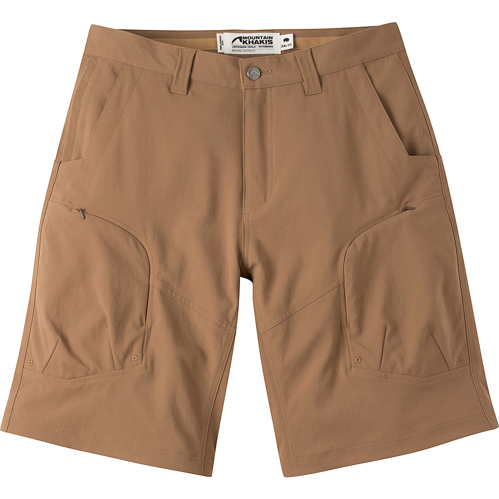 Mountain Khakis Trail Creek Shorts 33 - 12in - Tobacco - Mountain Khakis Mens Apparel - Apparel & Footwear, Men's Apparel