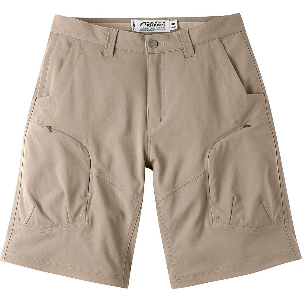 Mountain Khakis Trail Creek Shorts 32 - 10in - Freestone - Mountain Khakis Mens Apparel - Apparel & Footwear, Men's Apparel