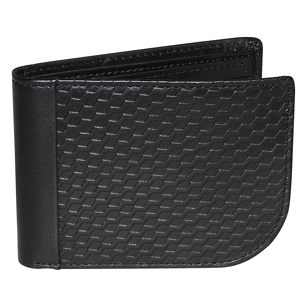 Buxton Bellamy RFID J-Fold Wallet Black - Buxton Mens Wallets - Work Bags & Briefcases, Men's Wallets