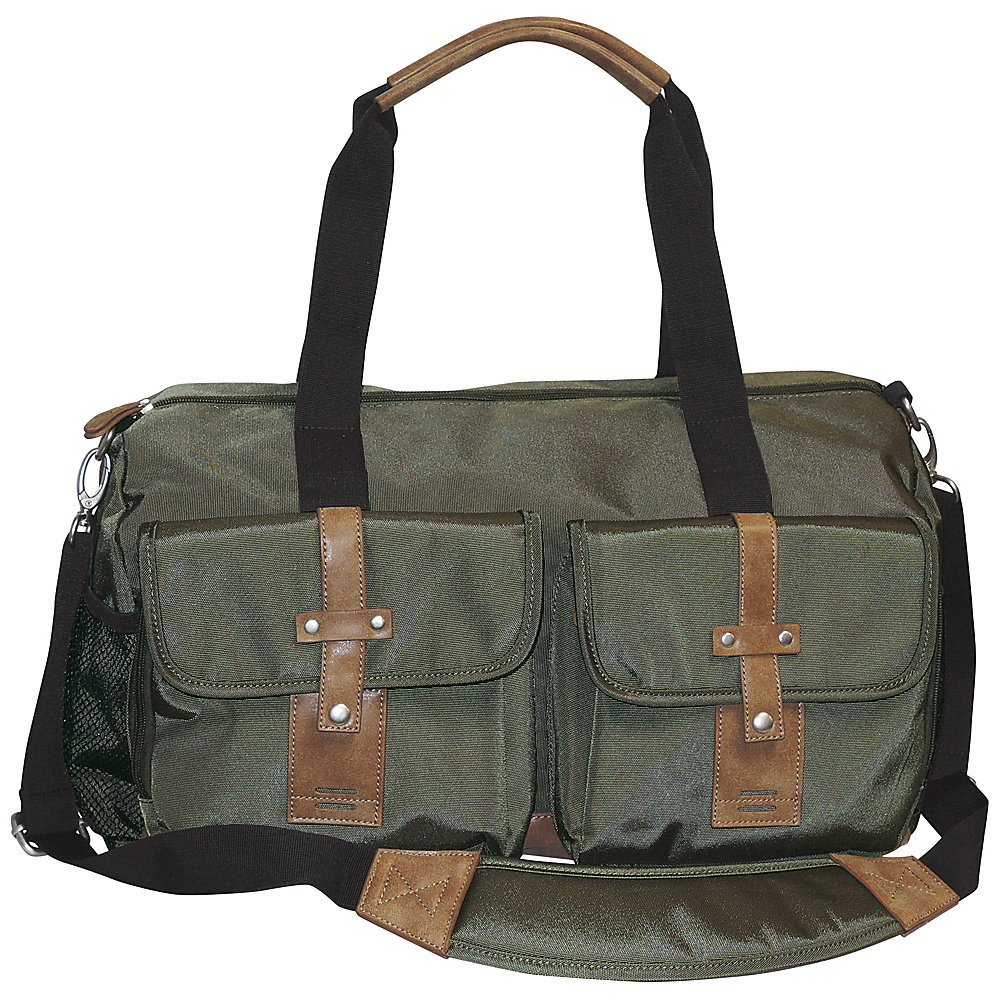 Buxton Expedition II Trekker Duffel Olive - Buxton Travel Duffels - Duffels, Travel Duffels