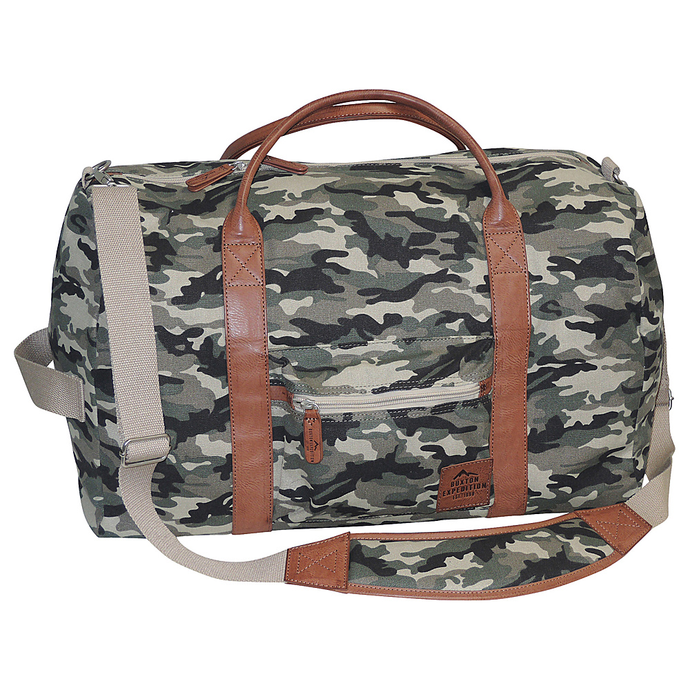 Buxton Expedition II Huntington Gear Convertible Duffel Camouflage - Buxton Travel Duffels - Duffels, Travel Duffels