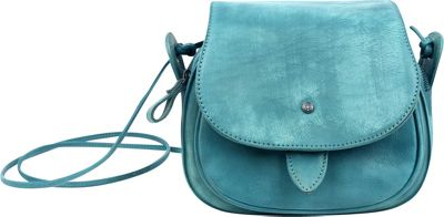 Old Trend Sun Flower Crossbody Aqua - Old Trend Leather Handbags