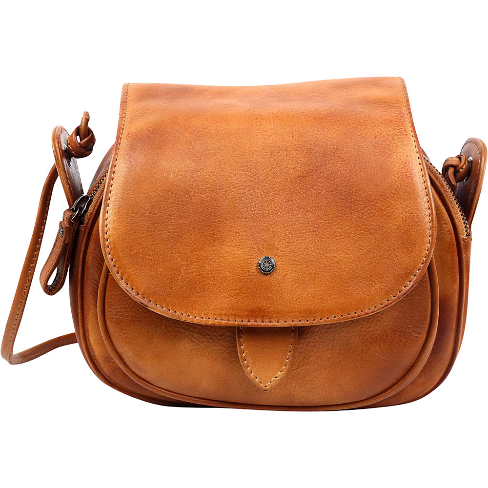 Old Trend Sun Flower Crossbody Chestnut Old Trend Leather Handbags