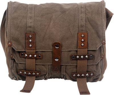 TSD Deck Ash Messenger Bag Army Green - TSD Messenger Bags