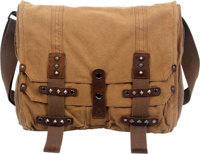 TSD Deck Ash Messenger Bag Camel - TSD Messenger Bags