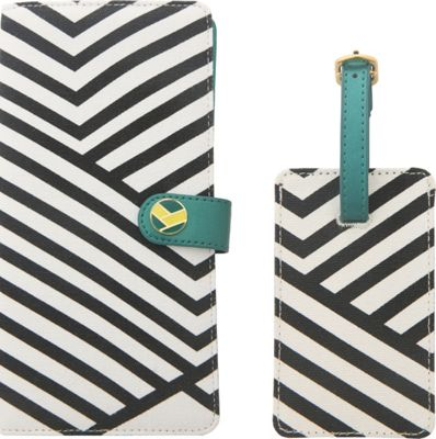 Flight 001 Stewardess Document Holder and Luggage Tag Set - EXCLUSIVE Teal - Flight 001 Travel Wallets