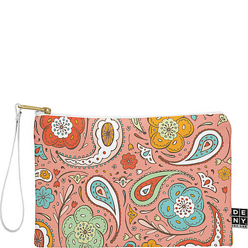 deny designs pouch with wristlet
