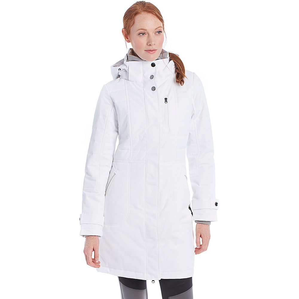 Lole Kathleen Jacket L - White - Lole Womens Apparel - Apparel & Footwear, Women's Apparel