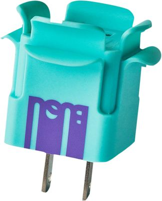 BUQU Crown USB Wall Charger Turquoise - BUQU Portable Batteries & Chargers