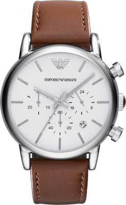 Emporio Armani Classic Watch Brown - Emporio Armani Watches