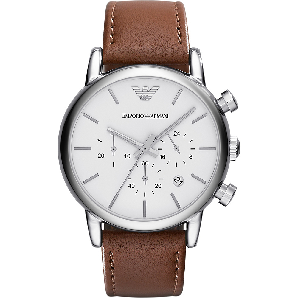 Emporio Armani Classic Watch Brown Emporio Armani Watches