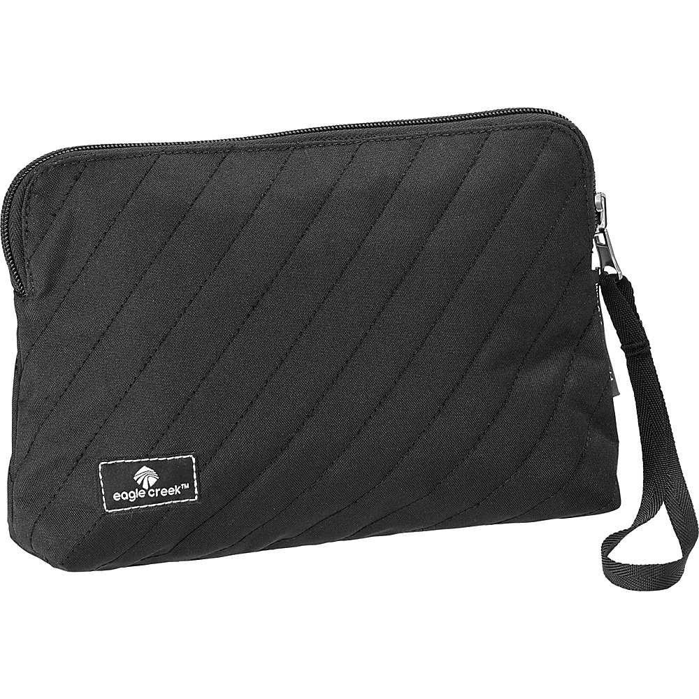 Eagle Creek Pack-It OriginalQuilted Reversible Wristlet Black - Eagle Creek Travel Organizers - Travel Accessories, Travel Organizers