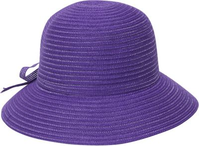 Physician Endorsed Mae Cloche Hat One Size - Purple - Physician Endorsed Hats/Gloves/Scarves