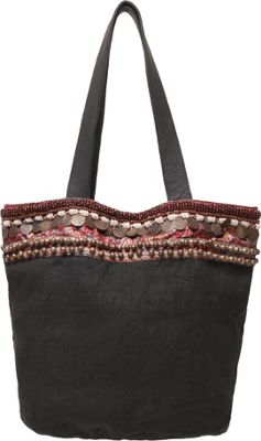 Ale by Alessandra Cleopatra Tote Black - Ale by Alessandra Fabric Handbags