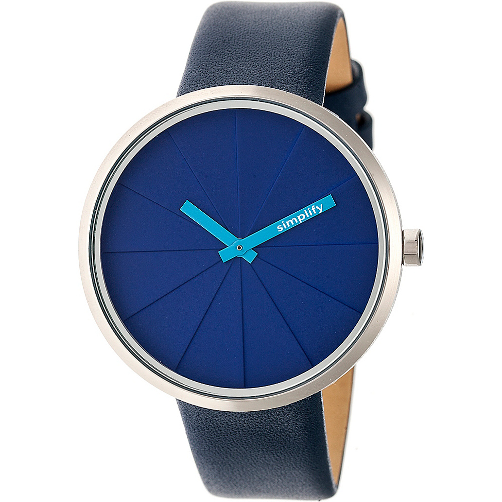 Simplify The 4000 Unisex Watch Navy Simplify Watches