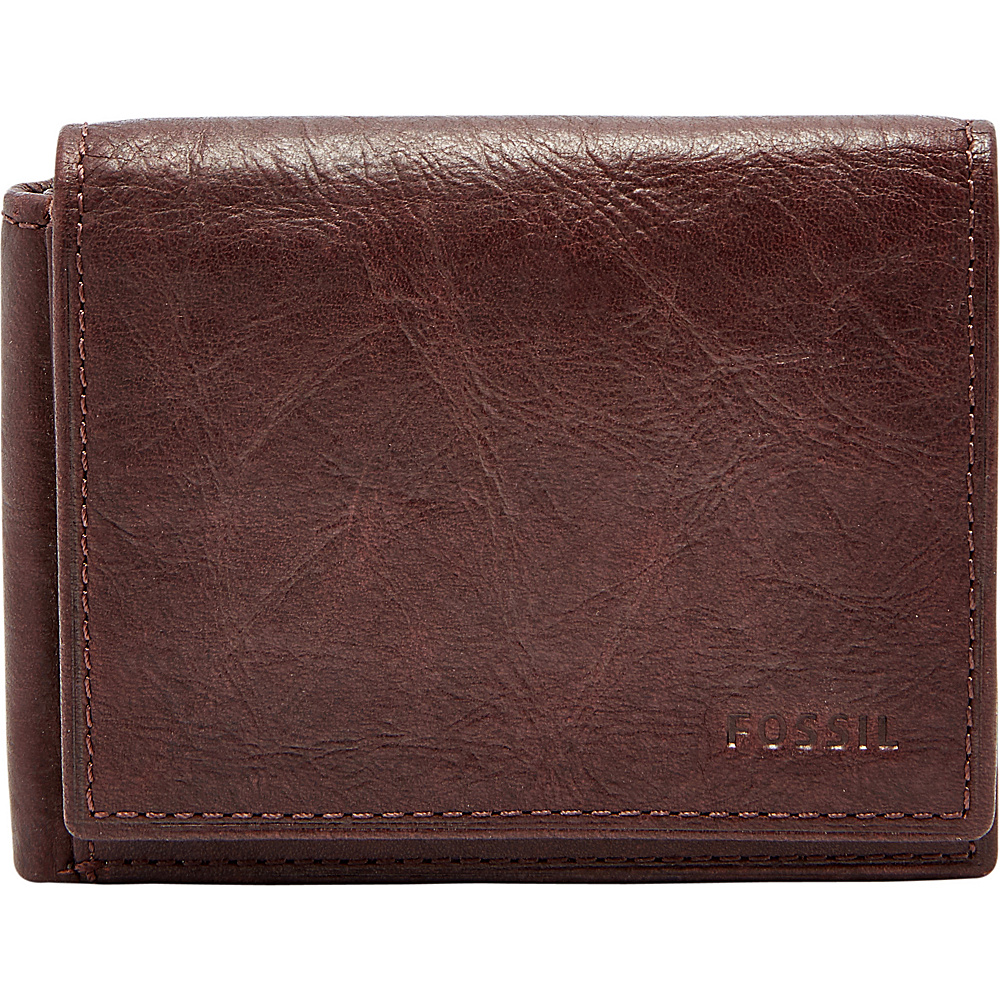 Fossil Ingram RFID Executive Wallet Brown - Fossil Mens Wallets - Work Bags & Briefcases, Men's Wallets