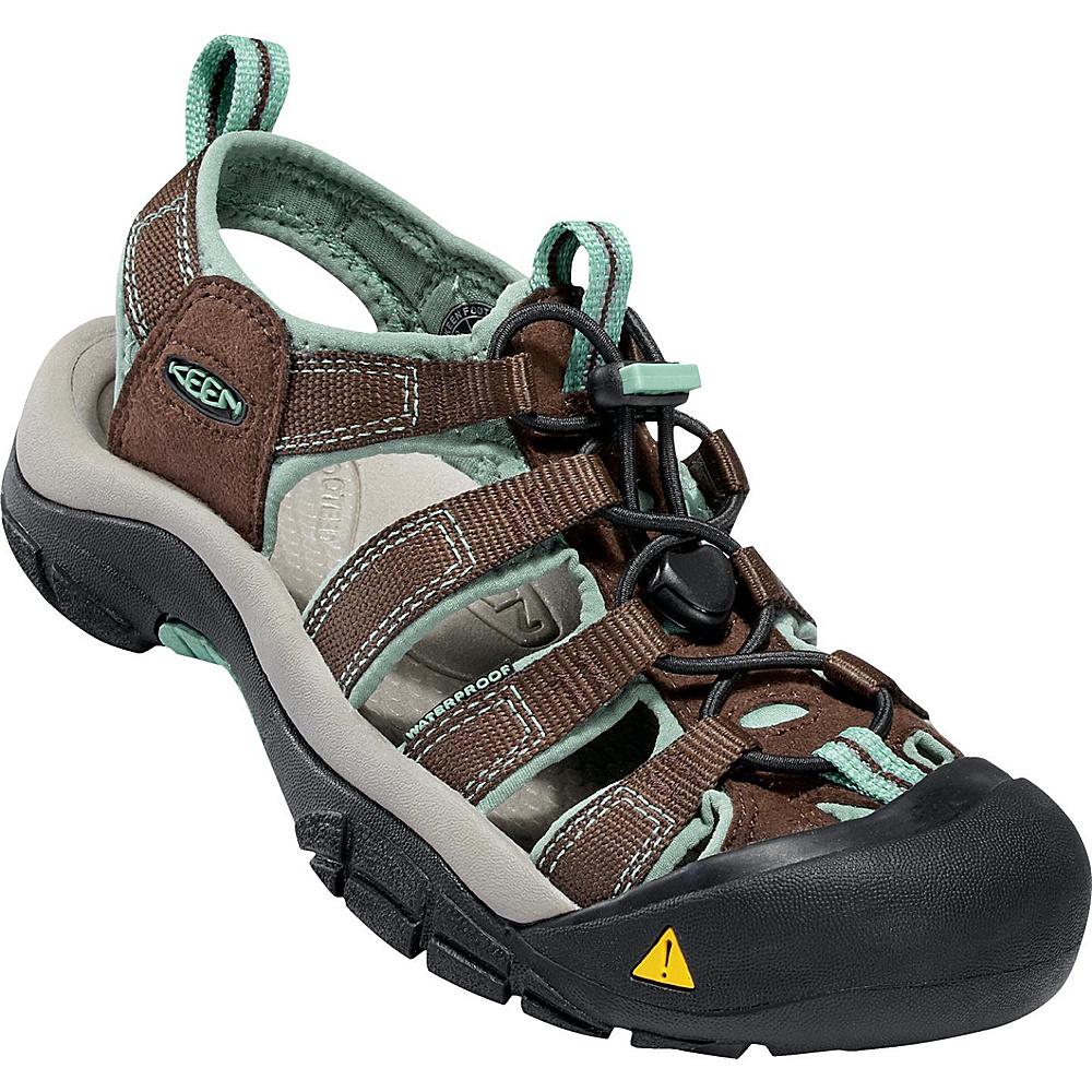 KEEN Womens Newport H2 Sandal 8 - Slate Black / Canton - KEEN Womens Footwear - Apparel & Footwear, Women's Footwear