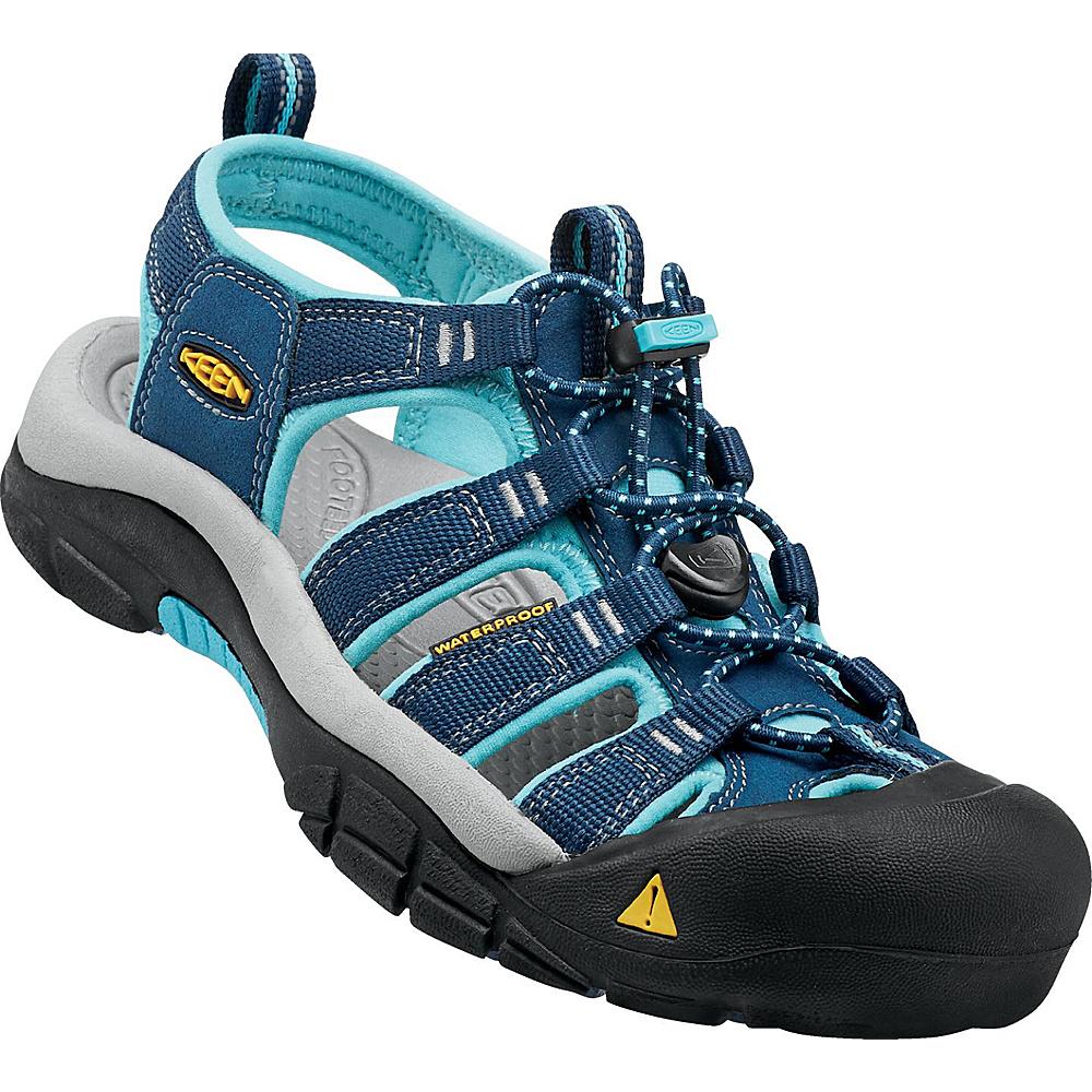 KEEN Womens Newport H2 Sandal 5.5 - Poseidon / Capri - KEEN Womens Footwear - Apparel & Footwear, Women's Footwear