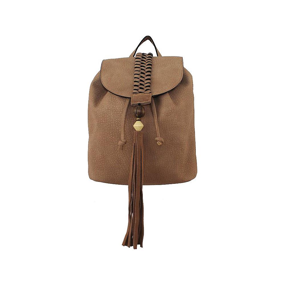 T shirt Jeans Sun Seeker Backpack Tan T shirt Jeans Manmade Handbags