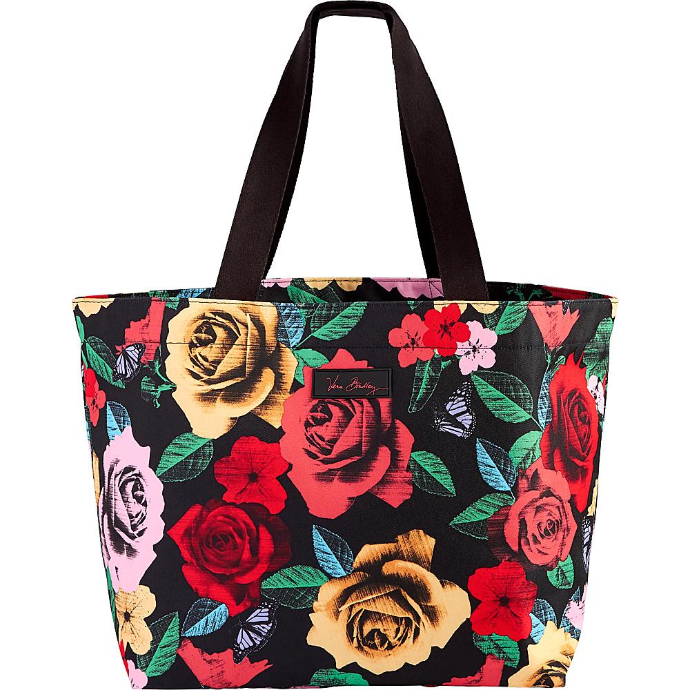 Vera Bradley Drawstring Family Tote Havana Rose - Vera Bradley Fabric Handbags - Handbags, Fabric Handbags