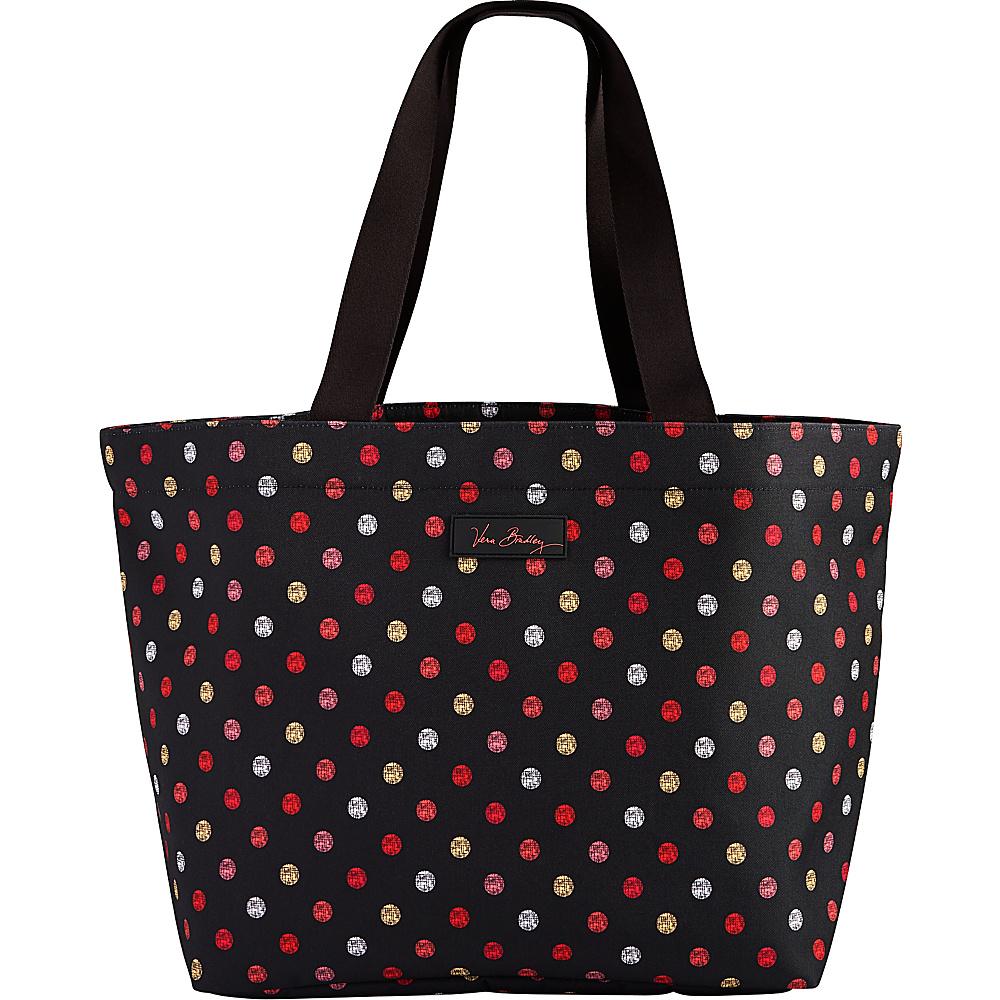 Vera Bradley Drawstring Family Tote Havana Dots - Vera Bradley Fabric Handbags - Handbags, Fabric Handbags