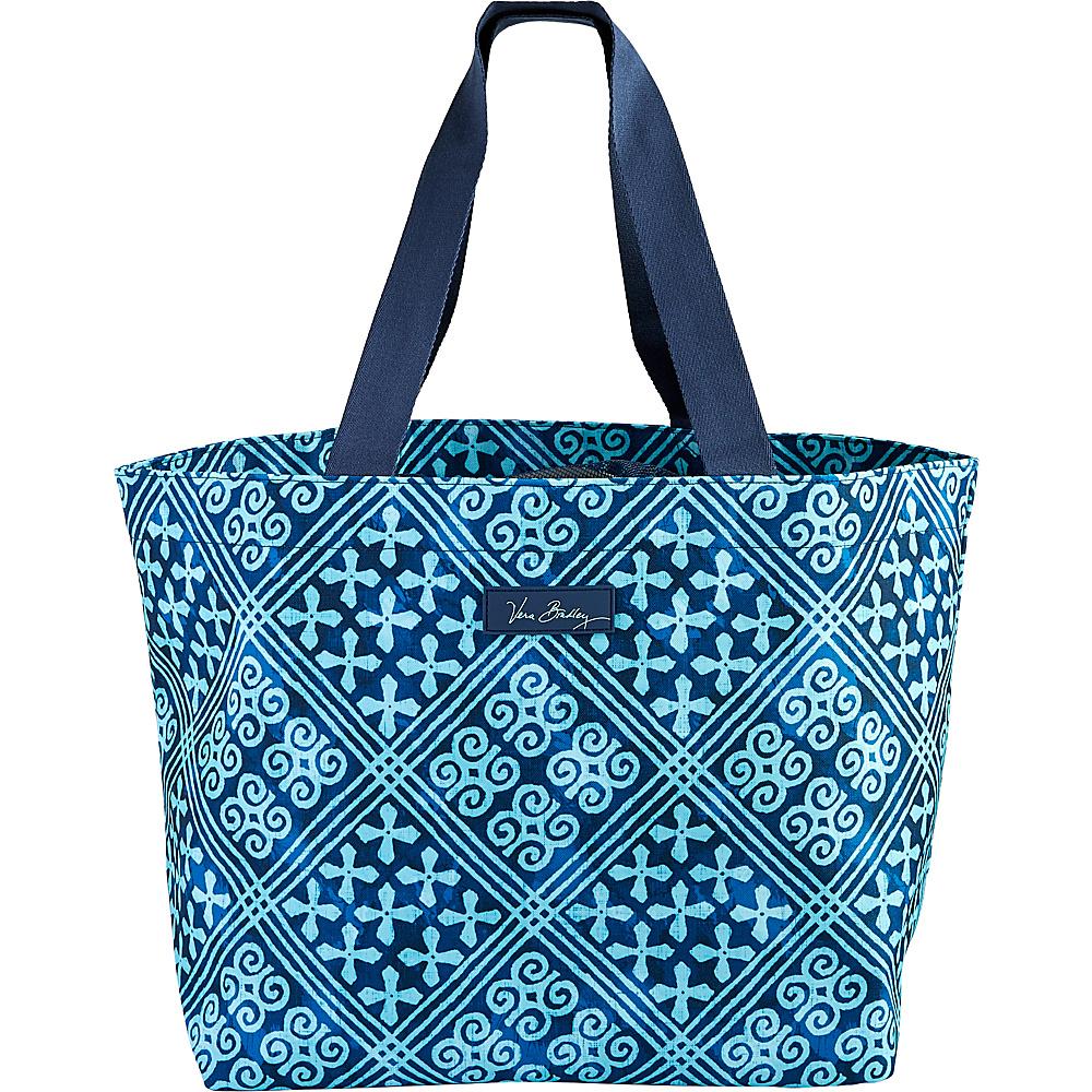 Vera Bradley Drawstring Family Tote Cuban Tiles - Vera Bradley Fabric Handbags - Handbags, Fabric Handbags