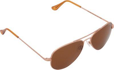 BENRUS Concorde Sunglasses - 61mm Almond Gold - BENRUS Sunglasses
