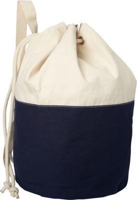 Shorebags Large Canvas Laundry Duffel Navy - Shorebags Gym Duffels