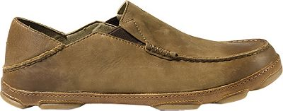 OluKai Mens Moloa Slip-On 10.5 - Ray/Toffee - OluKai Men's Footwear