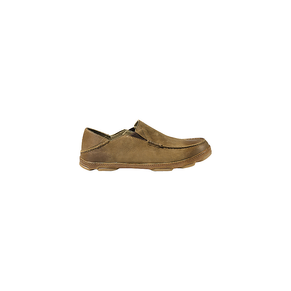 OluKai Mens Moloa Slip-On 9 - Ray/Toffee - OluKai Mens Footwear - Apparel & Footwear, Men's Footwear