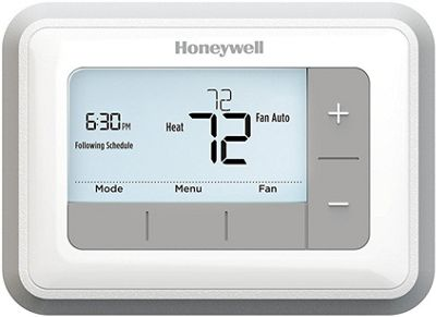 Honeywell T5 7-Day Programmable Thermostat White - Honeywell Smart Home Automation