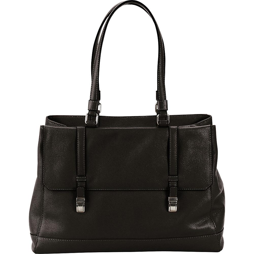 Hadaki Lady Urban Large Tote Black - Hadaki Leather Handbags - Handbags, Leather Handbags