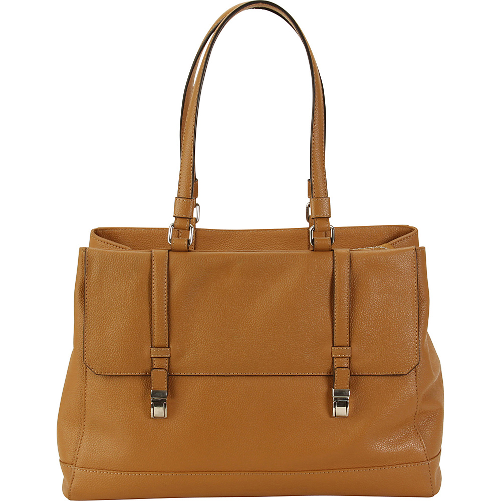Hadaki Lady Urban Large Tote Camel - Hadaki Leather Handbags - Handbags, Leather Handbags