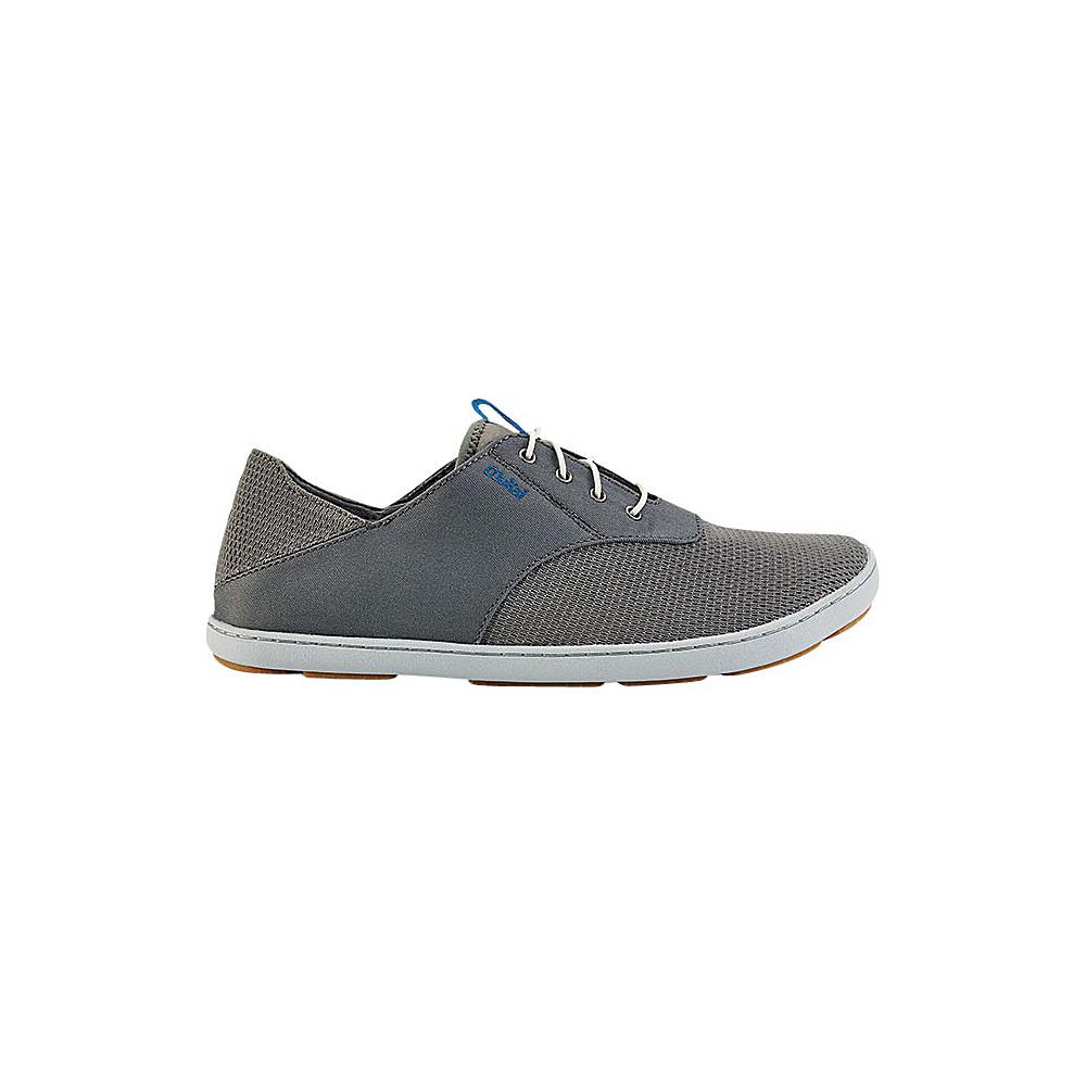 OluKai Mens Nohea Moku Sneaker 8.5 - Fog/Charcoal - OluKai Mens Footwear - Apparel & Footwear, Men's Footwear