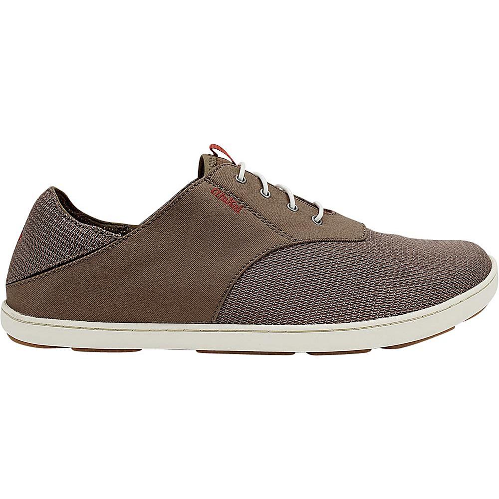 OluKai Mens Nohea Moku Sneaker 12 - Rock/Mustang - OluKai Mens Footwear - Apparel & Footwear, Men's Footwear