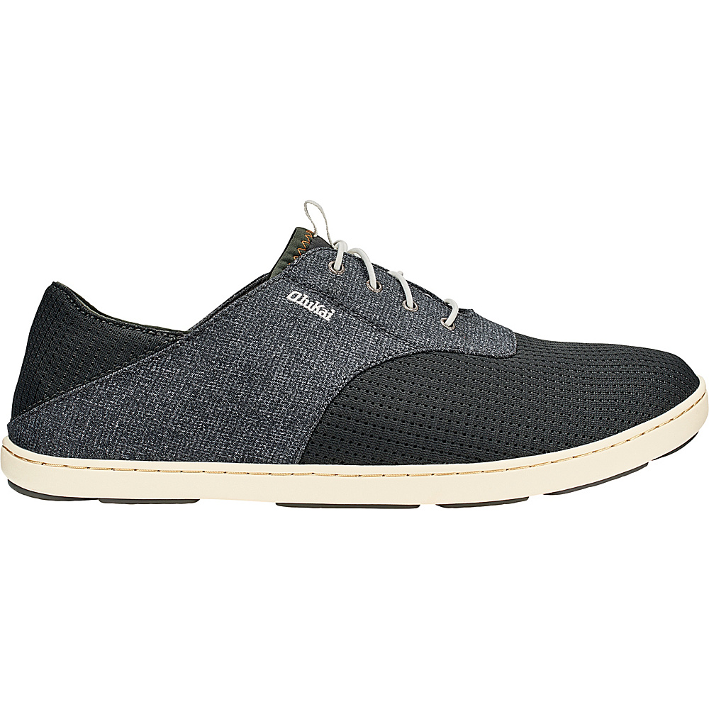 OluKai Mens Nohea Moku Sneaker 8 - Dark Shadow/Dark Shadow - OluKai Mens Footwear - Apparel & Footwear, Men's Footwear