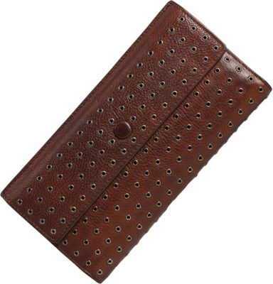 Old Trend Jacaranda Clutch Cognac - Old Trend Women's Wallets