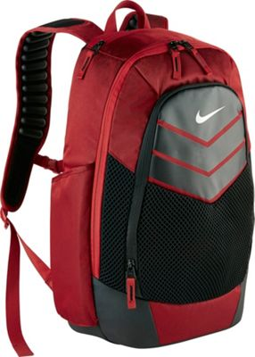 Nike Vapor Power Backpack Gym Red/Black/Metallic Silver - Nike Everyday Backpacks